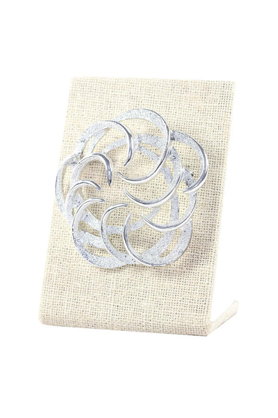 60's__Sarah Coventry__Etched Swirl Brooch