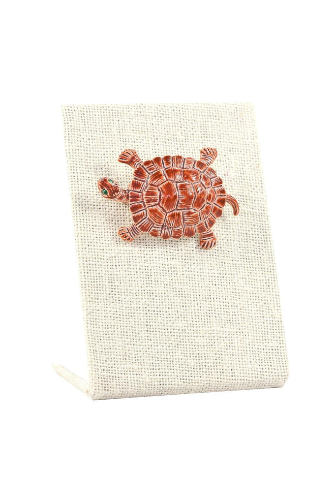 50's__Gerry's__Turtle Brooch