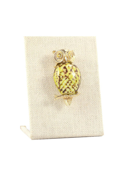 70's__Vintage__Statement Owl Brooch