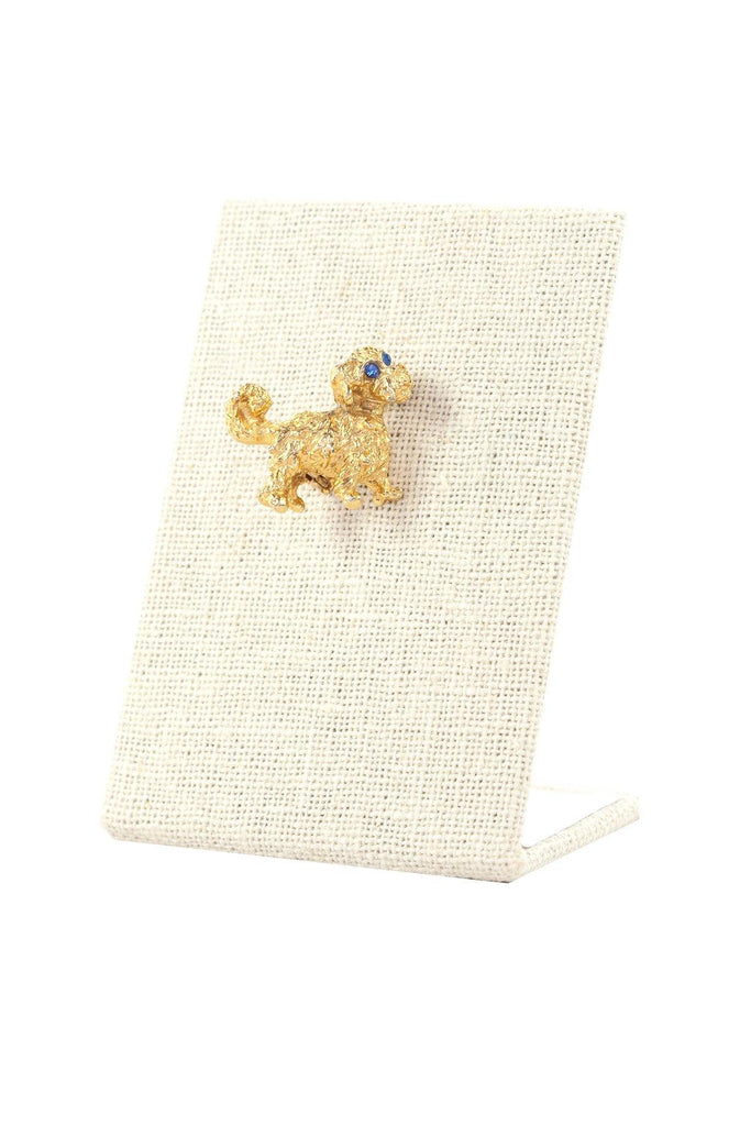 60's__Vintage__Mini Dog Brooch
