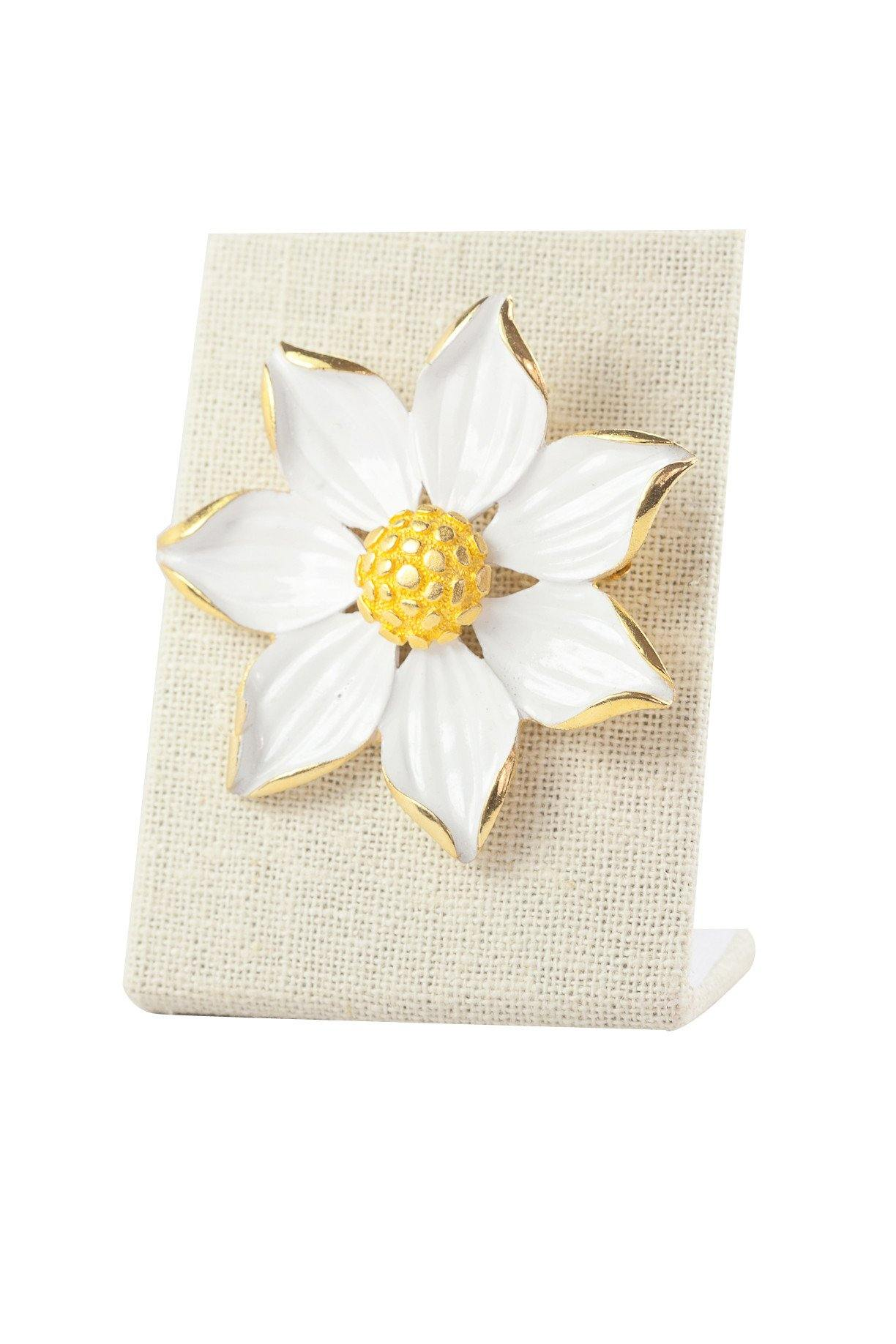 70's__Vintage__Statement Daisy Brooch