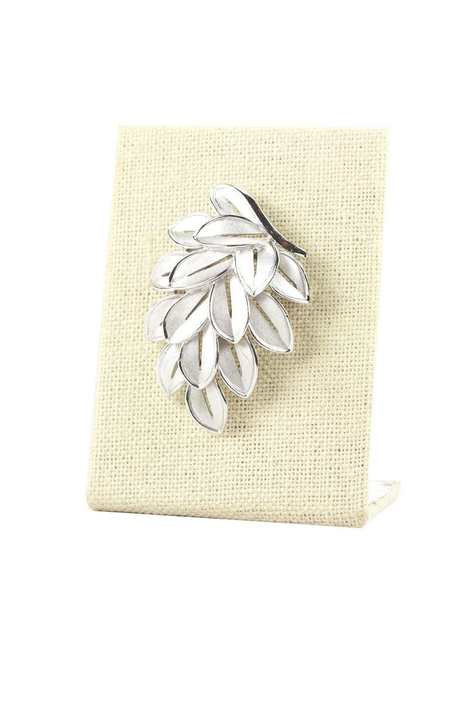 60's__Trifari__Leaf Brooch