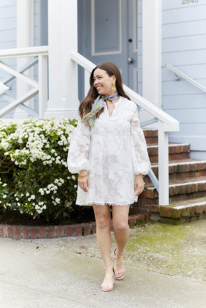 Floral Rose Tunic Dress