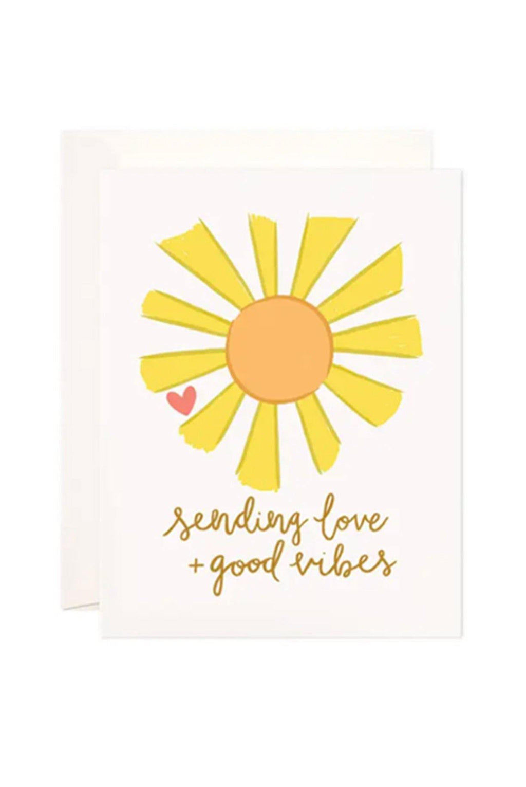 Sending Love & Good Vibes Card