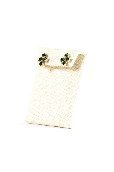 50's__Vintage__Emerald Clips