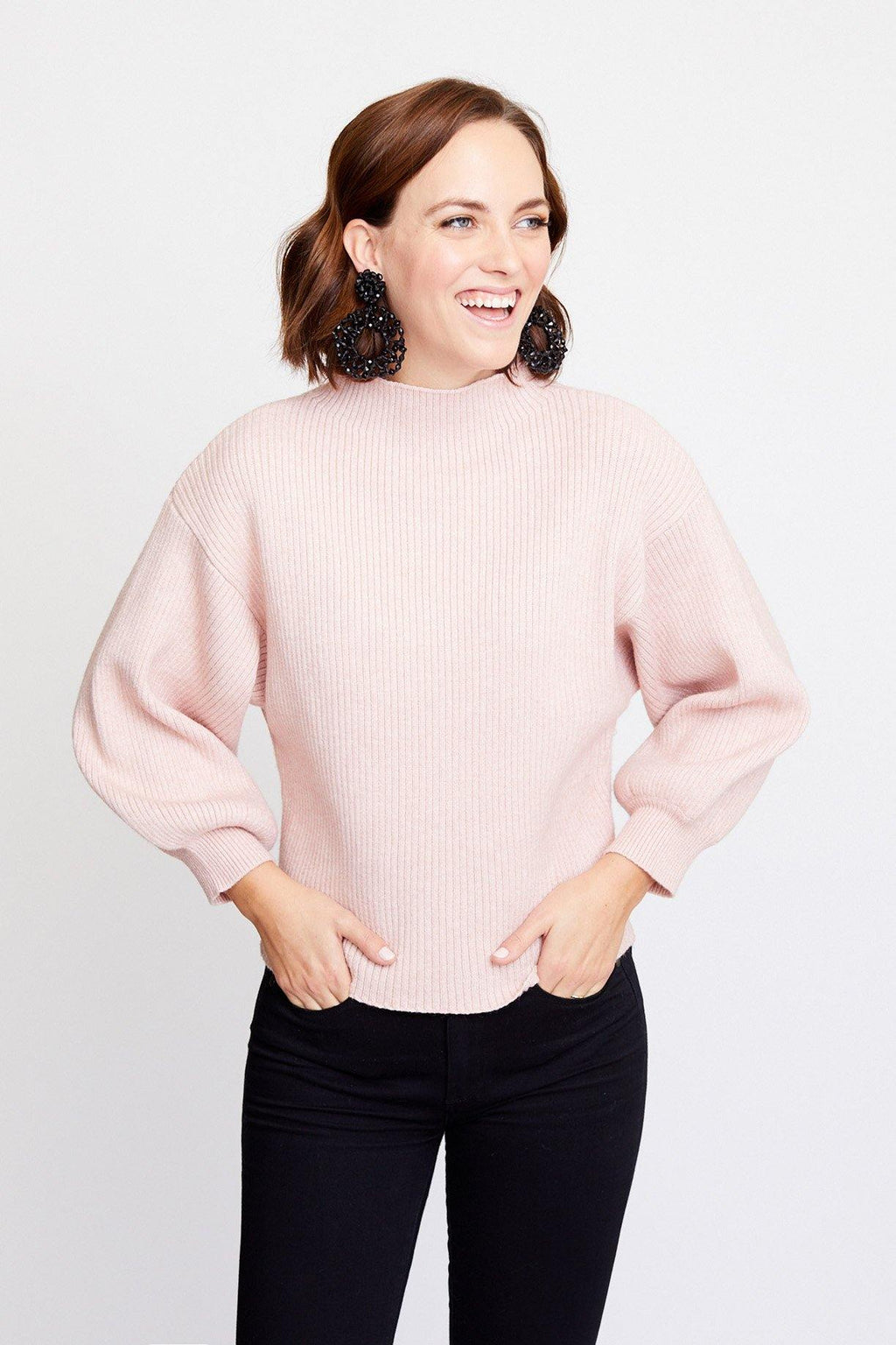 Alder Funnel Neck Sweater