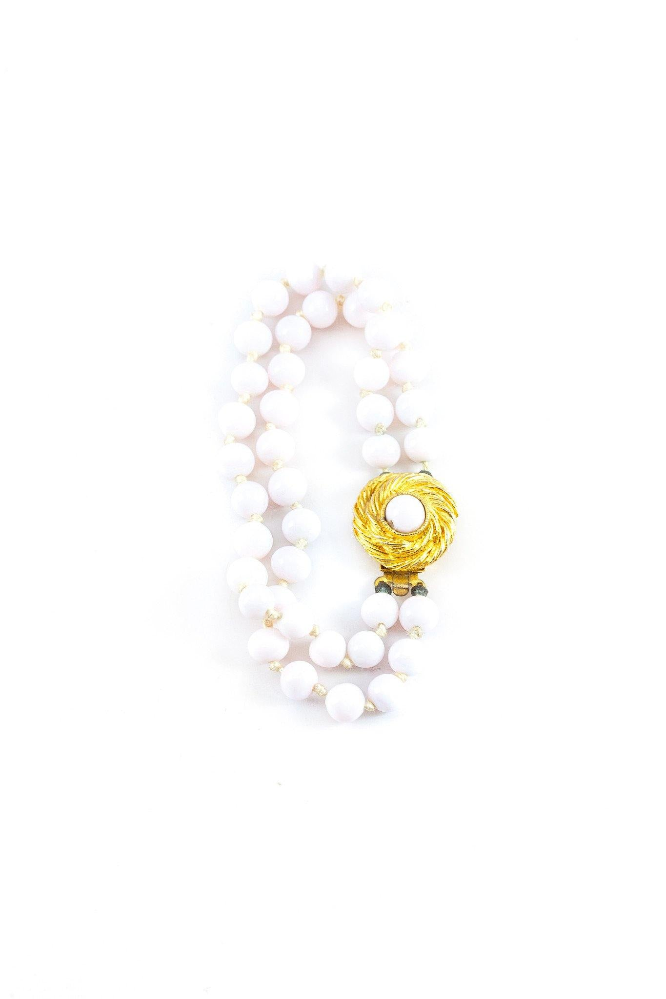 Copy of 40's__Laguna__White Stone Bracelet