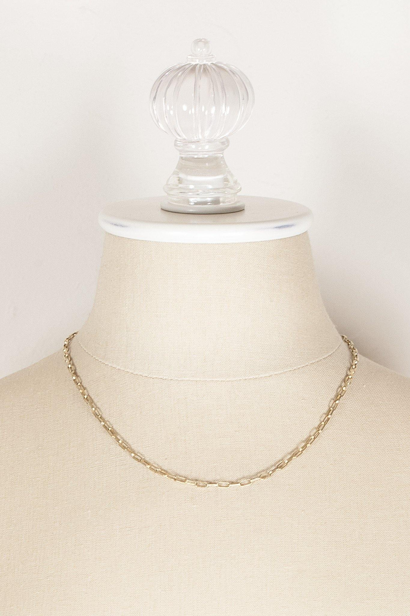 50's__Accessocraft__Classic Chain Necklace