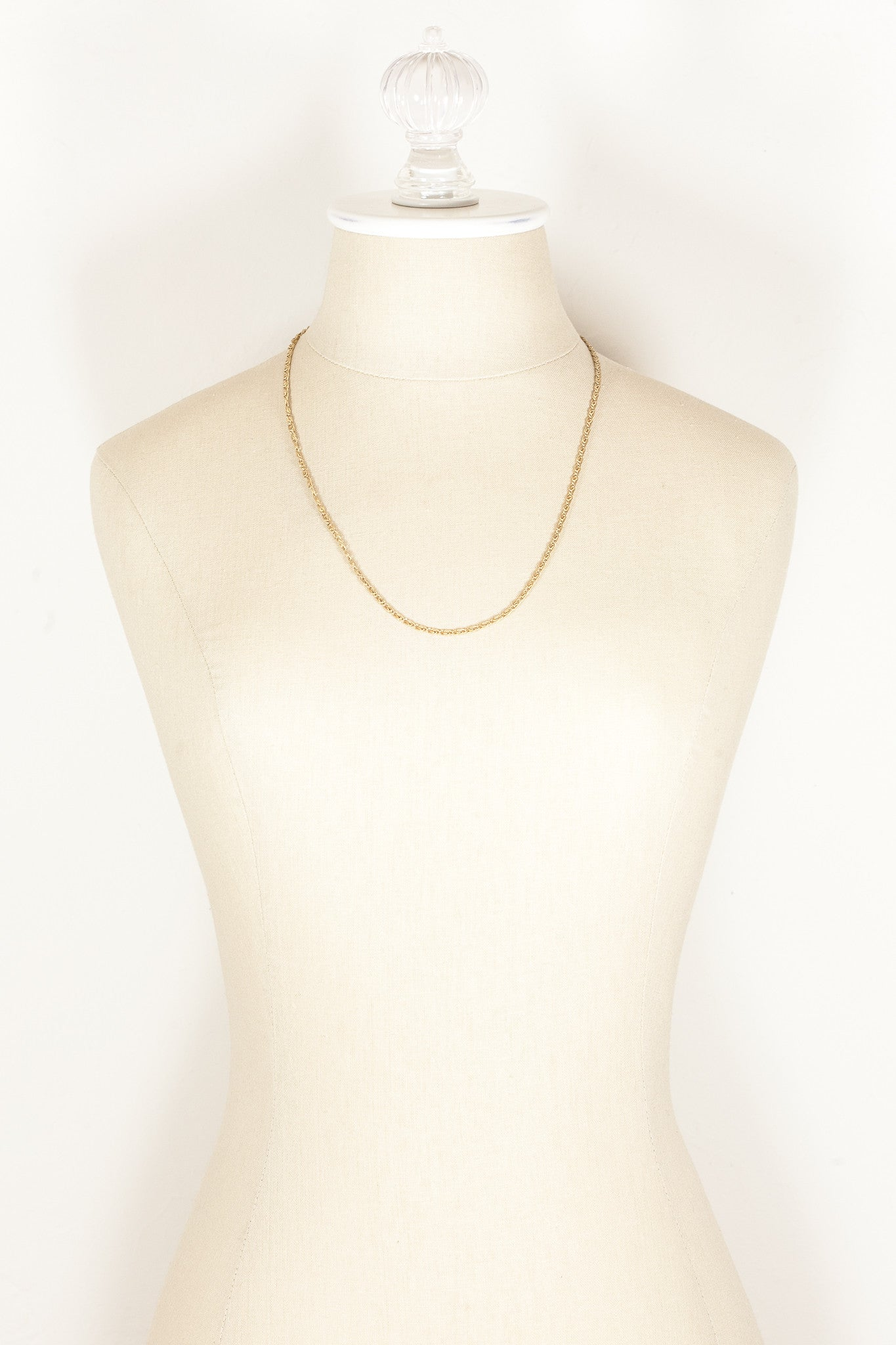 70's__Vintage__Classic Chain Necklace