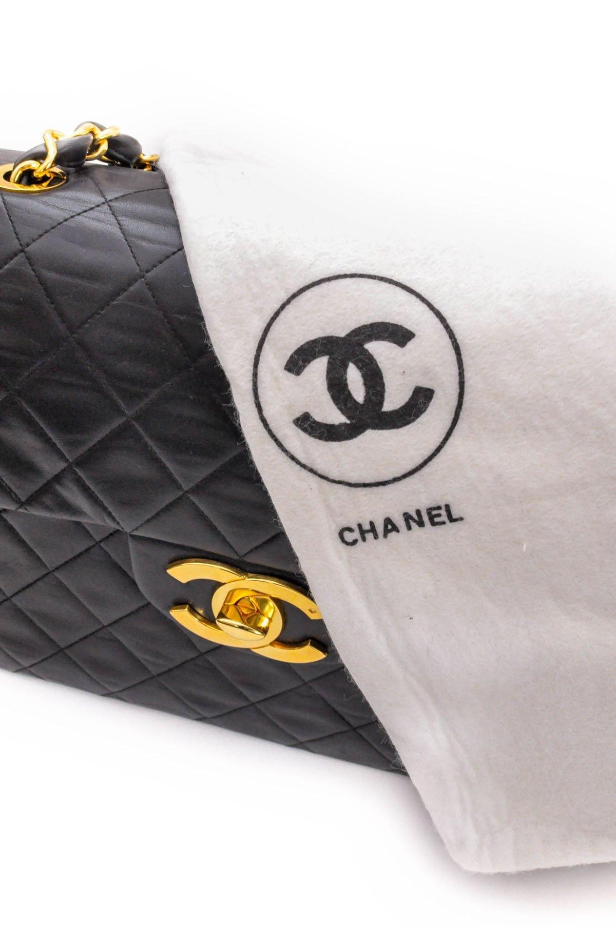 Vintage Chanel Jumbo Flapbag from Sweet and Spark