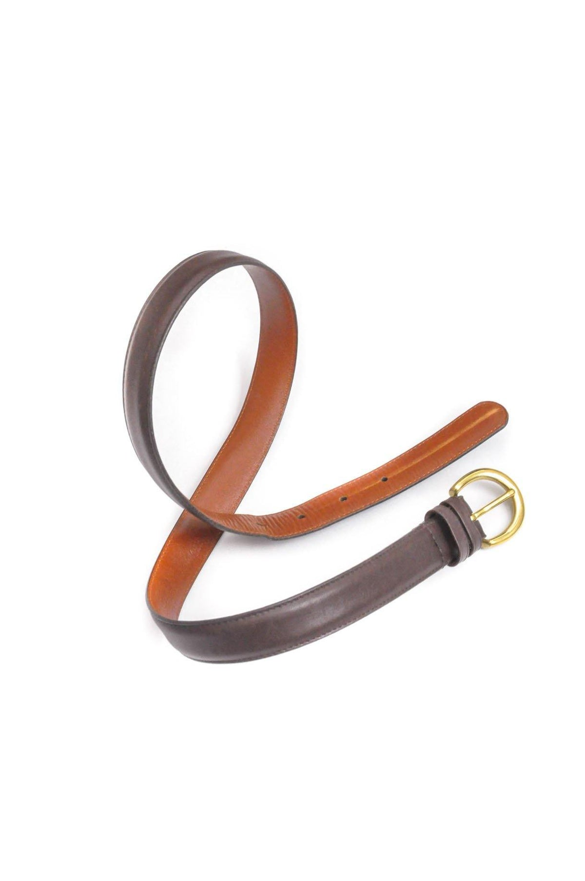 Vintage Brown Coach Belt from Sweet and Spark.