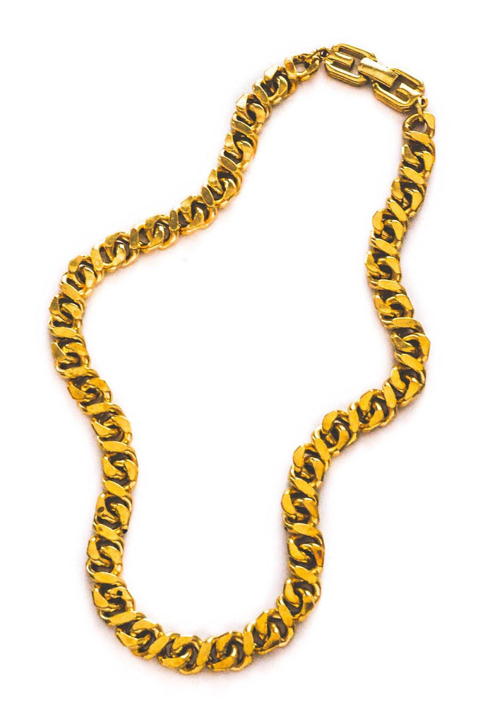 Givenchy Curb Chain Necklace