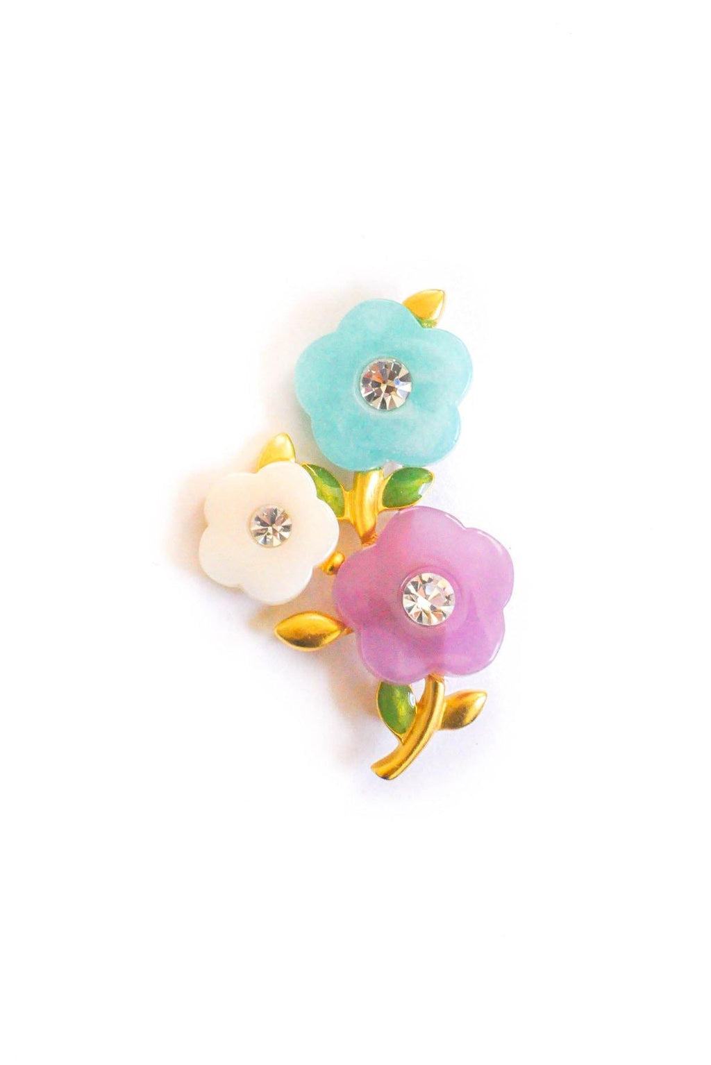 Givenchy Floral Resin Brooch
