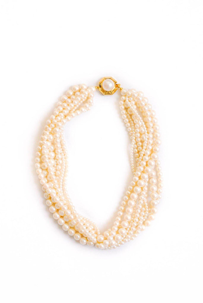 Givenchy Pearl Layered Necklace