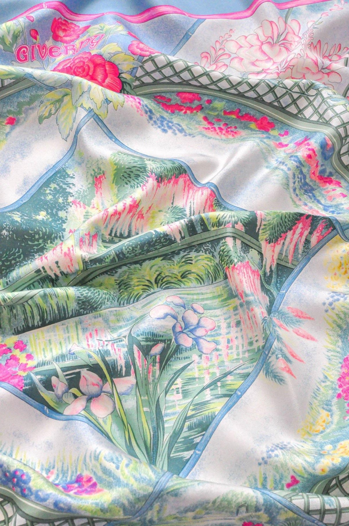 Vintage Hermes Giverny Scarf from Sweet and Spark