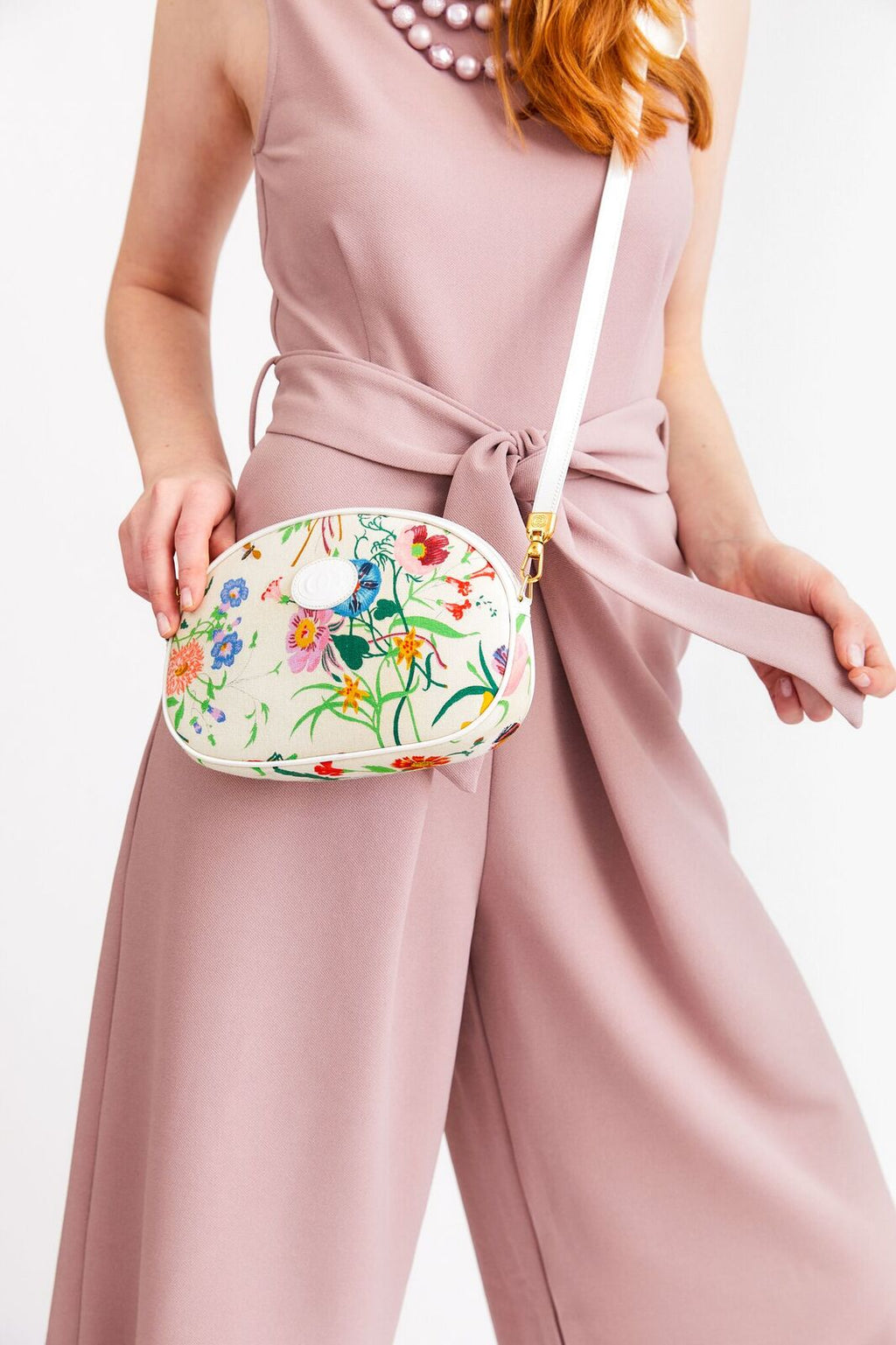 Gucci Floral Crossbody Bag