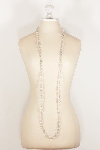 60's__Vendome__Crystal Necklace