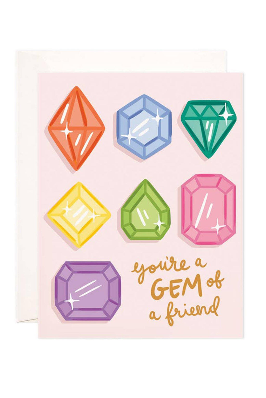 Gem Of A Friend Card