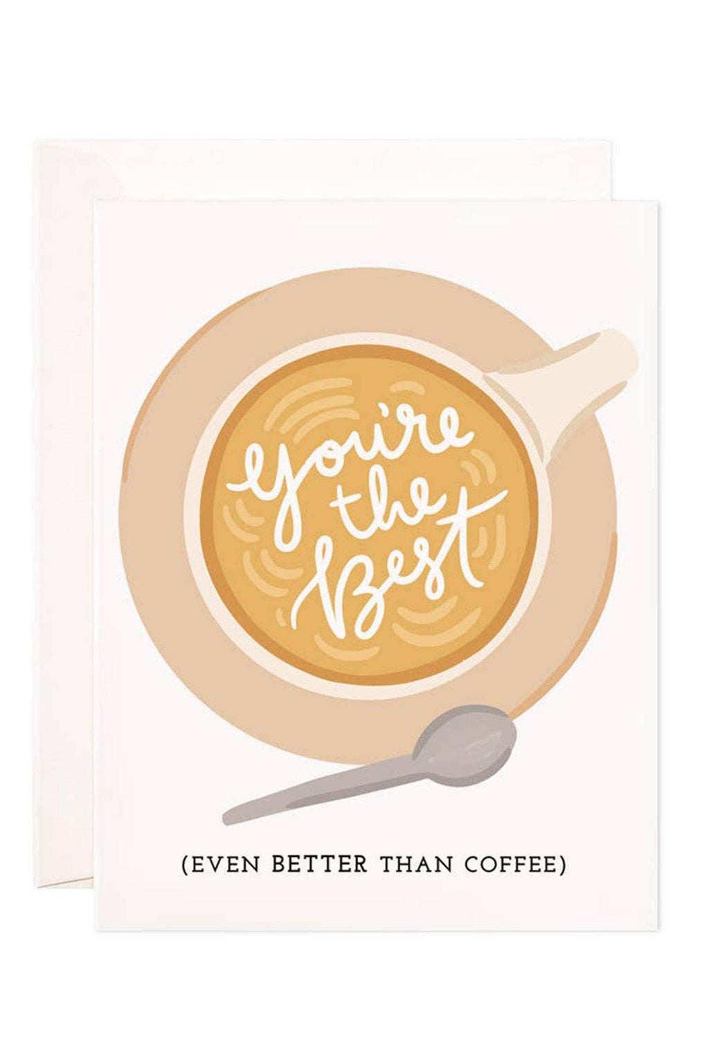You're The Best Coffee Card