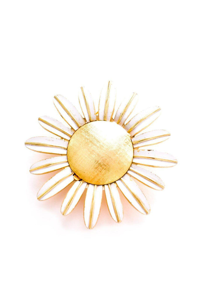 Statement Daisy Brooch