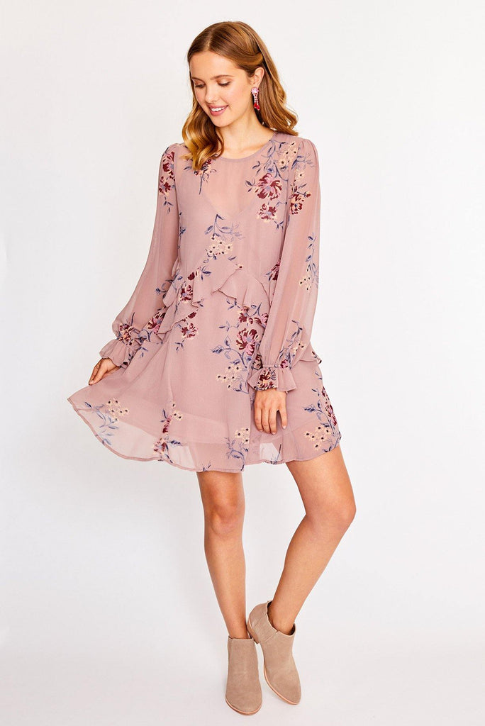 Heather Ruffle Dress