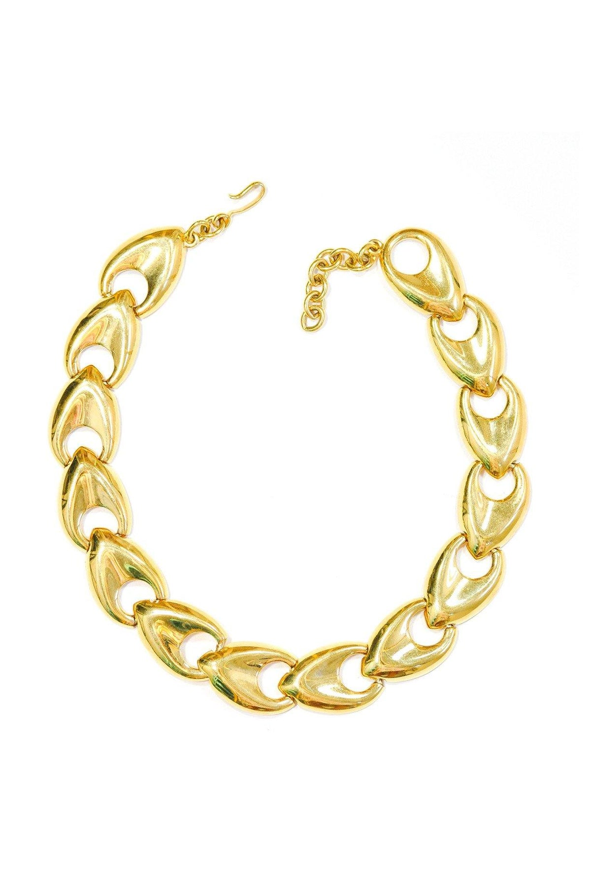 80's Monet Chunky Gold Choker Necklace
