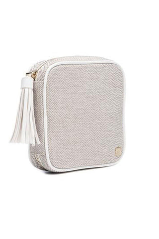 __Je'Taime White Stella__Hudson + Bleecker Jewelry Travel Case
