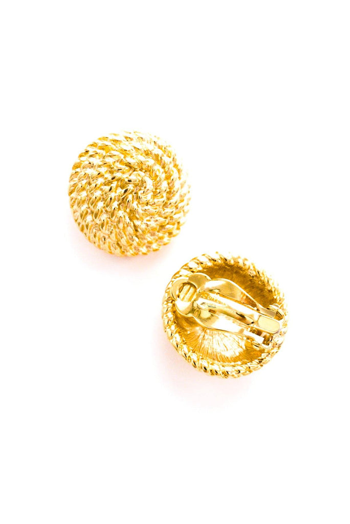 Givenchy Rope Clip-on Earrings