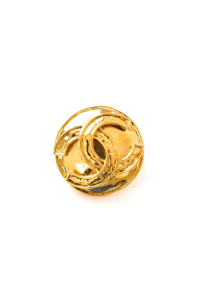 Chanel Iconic CC Round Brooch