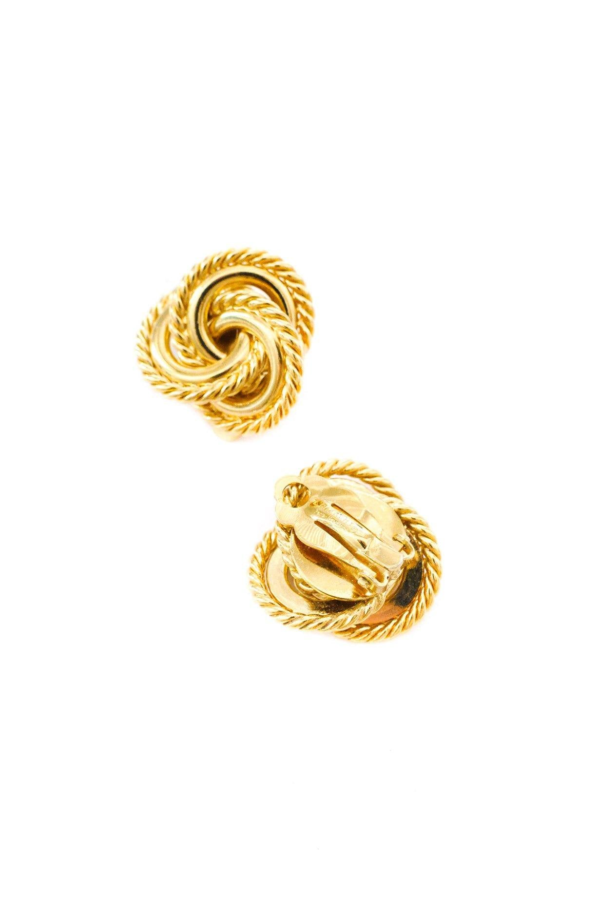 Givenchy Love Knot Clip-on Earrings