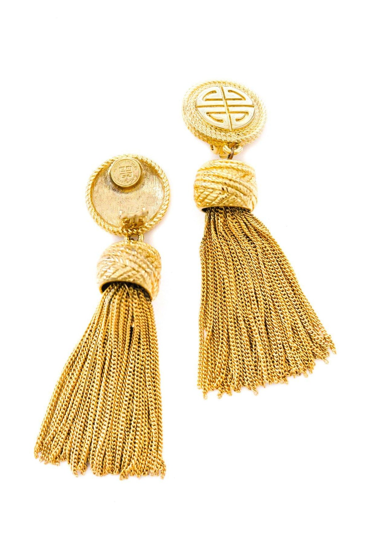 Vintage Givenchy statement Tassel Earrings from Sweet & Spark.