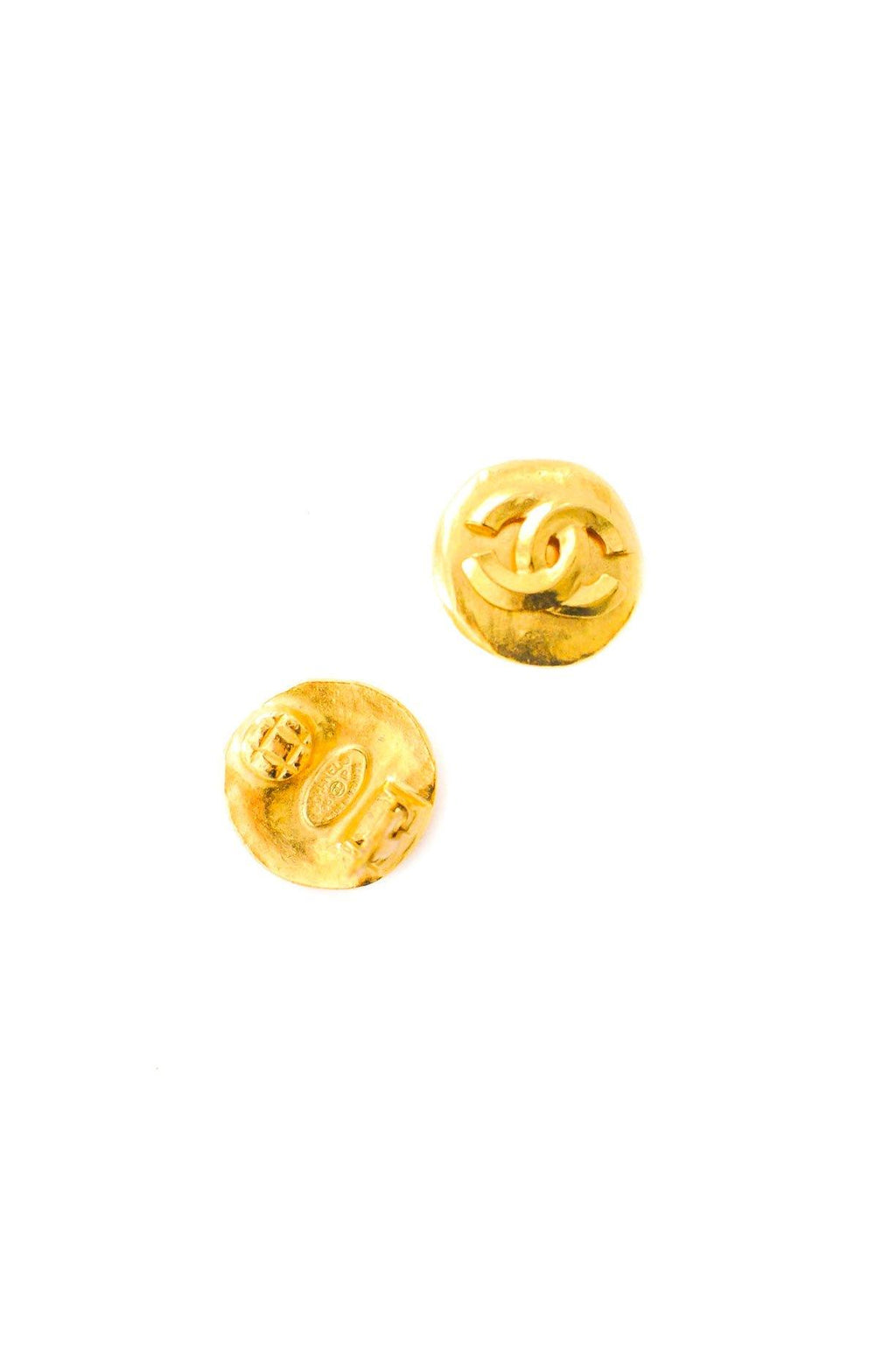 Chanel Small Coin Clip-on Earrings