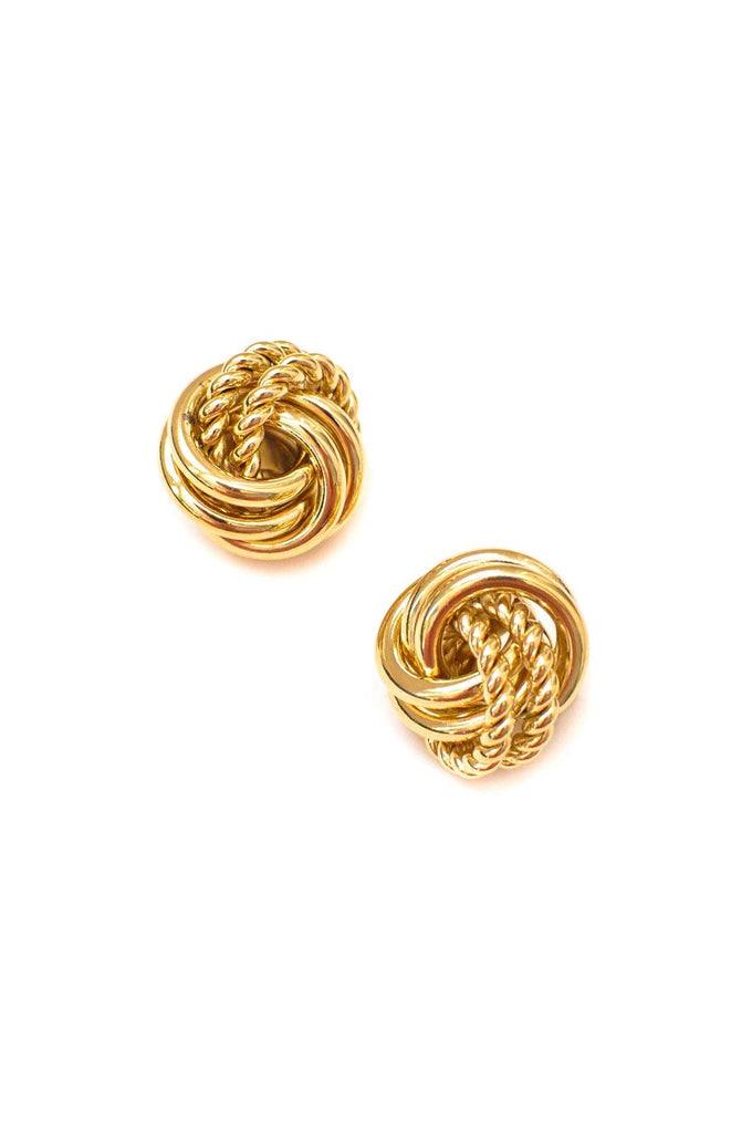 Givenchy Knot Clip-on Earrings