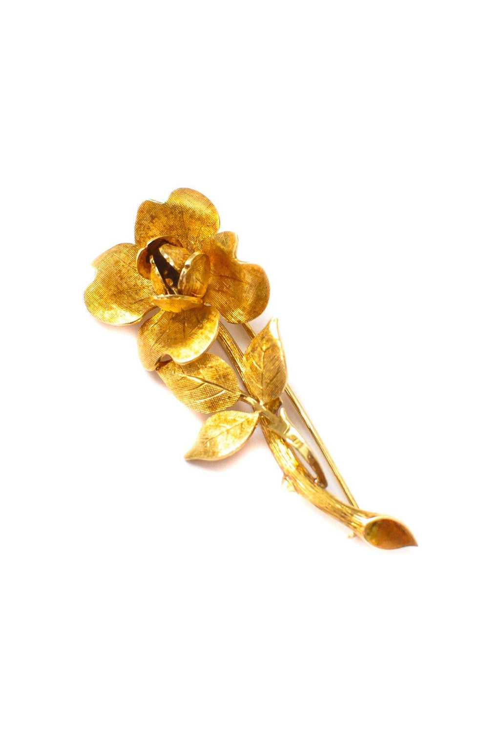 Tiffany & Co. Rose Brooch
