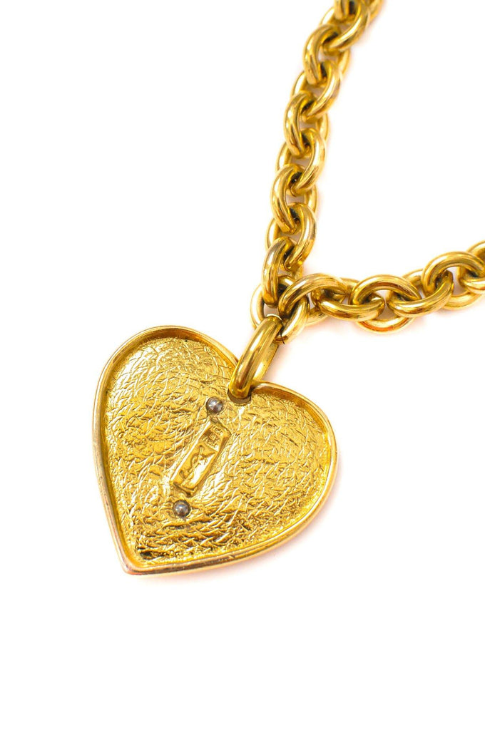 YSL Statement Heart Necklace