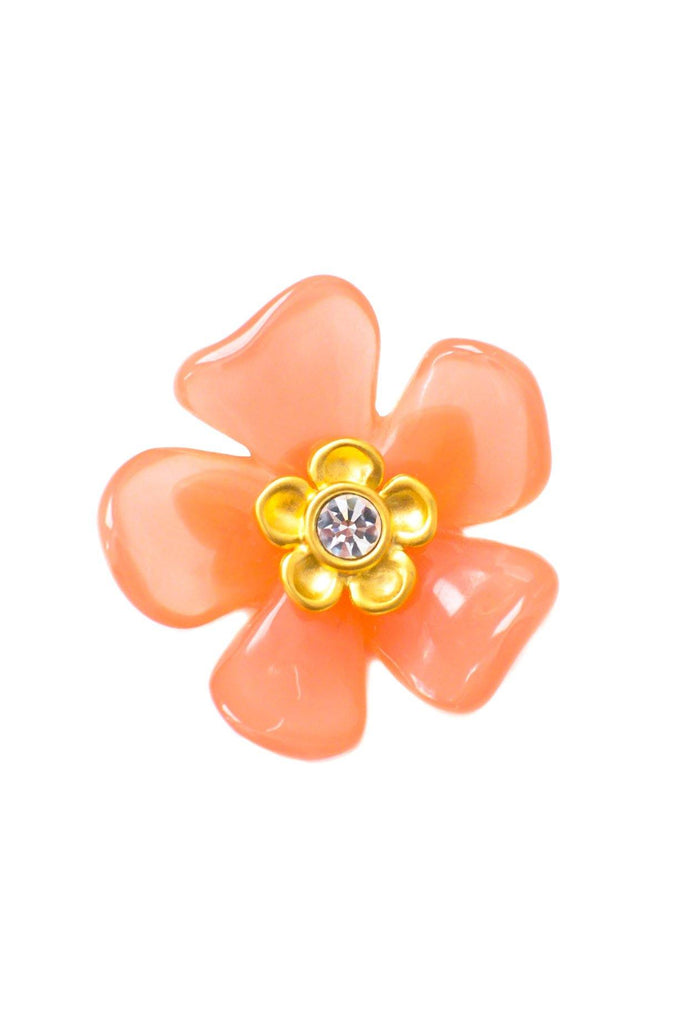 Givenchy Floral Brooch
