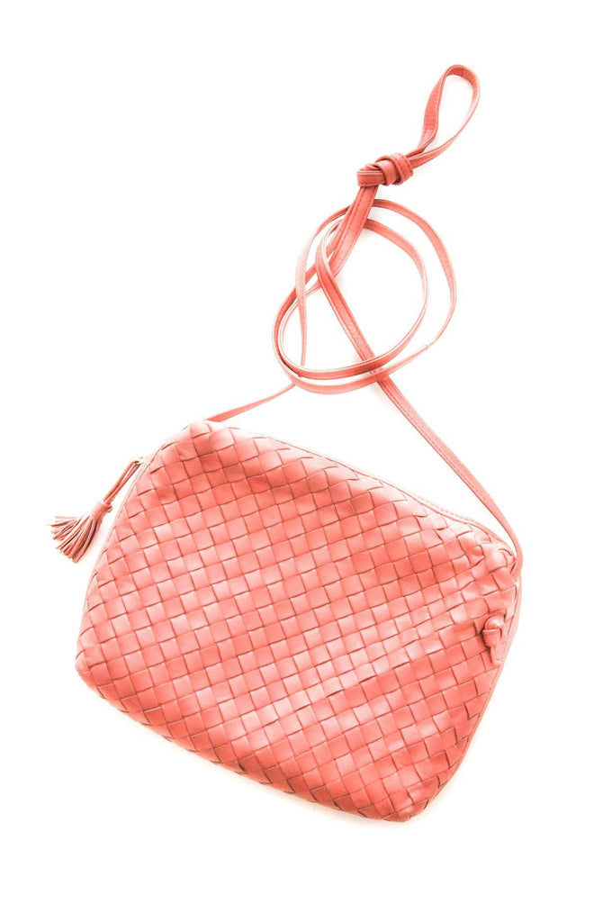 Bottega Veneta Pink Crossbody Bag