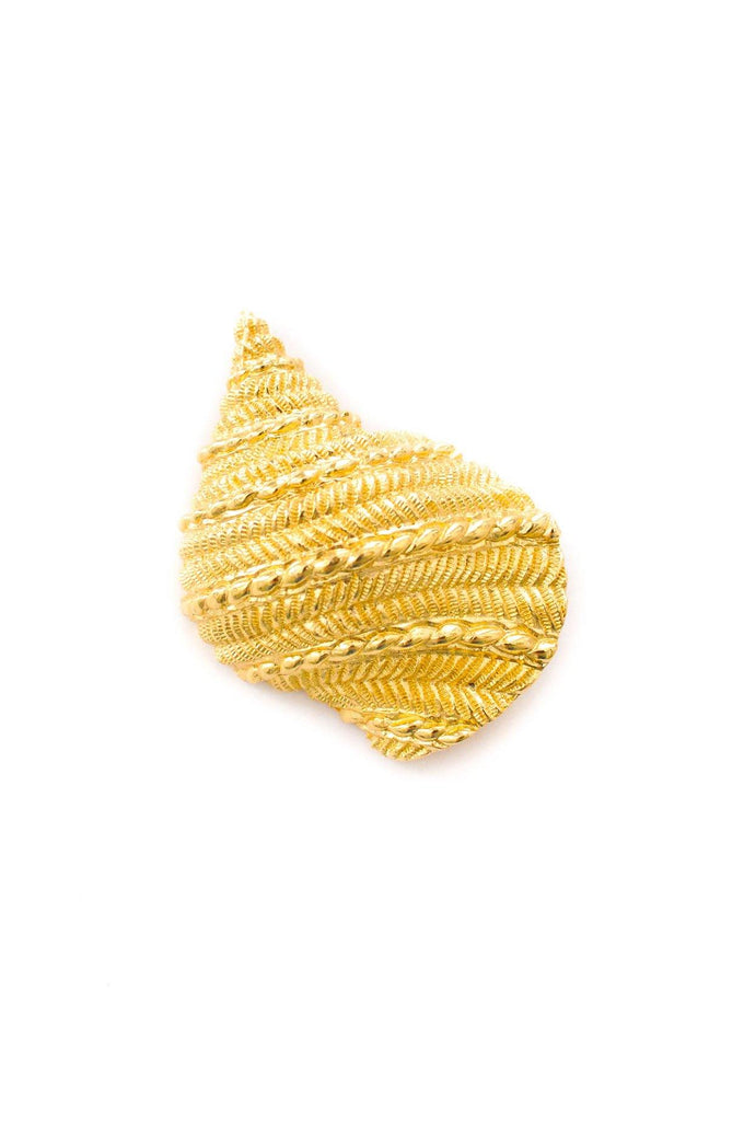 Christian Dior Shell Brooch