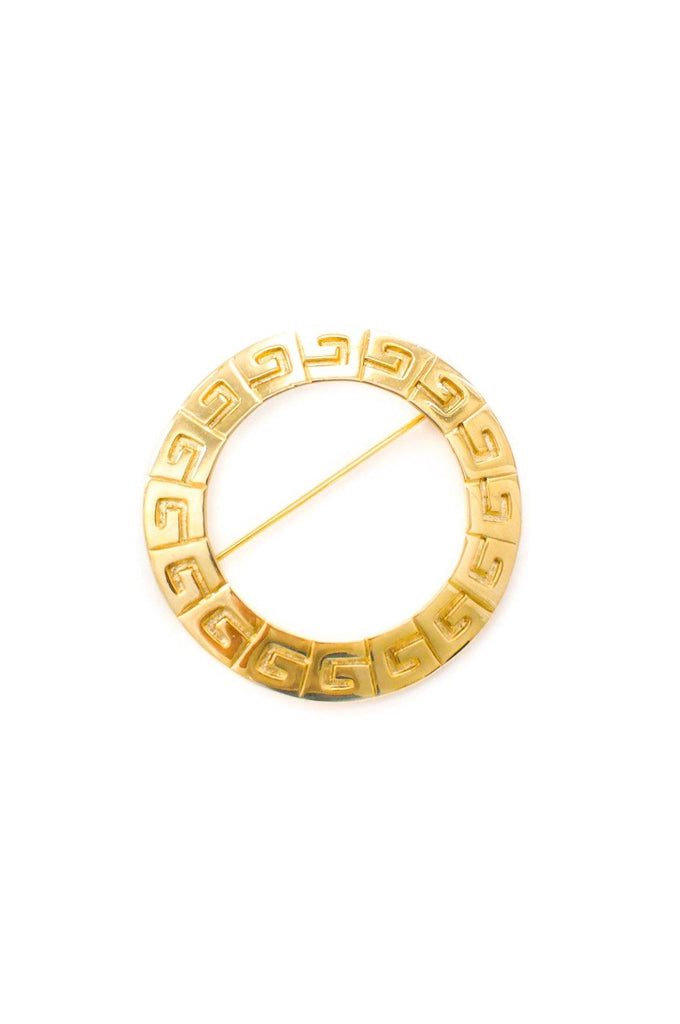 Givenchy Logo Brooch