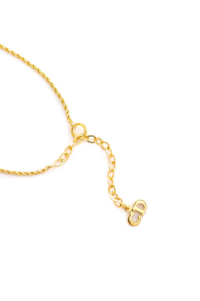Christian Dior Heart Pendant Necklace