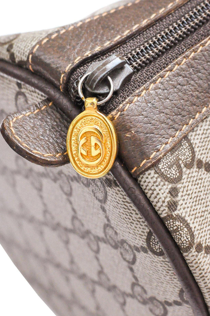 Gucci Boston Logo Handbag