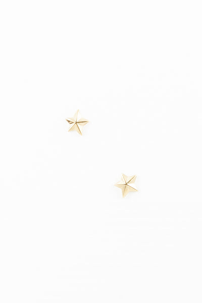 80's__Vintage__Vintage Star Stud Earrings