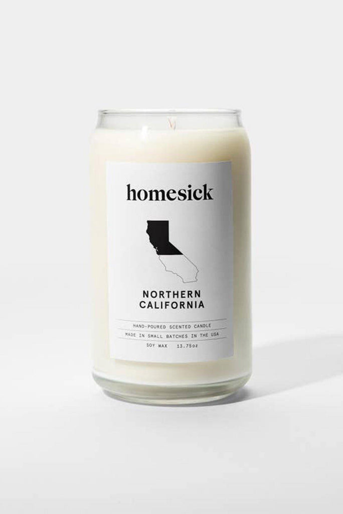 Homesick Northern California Candle