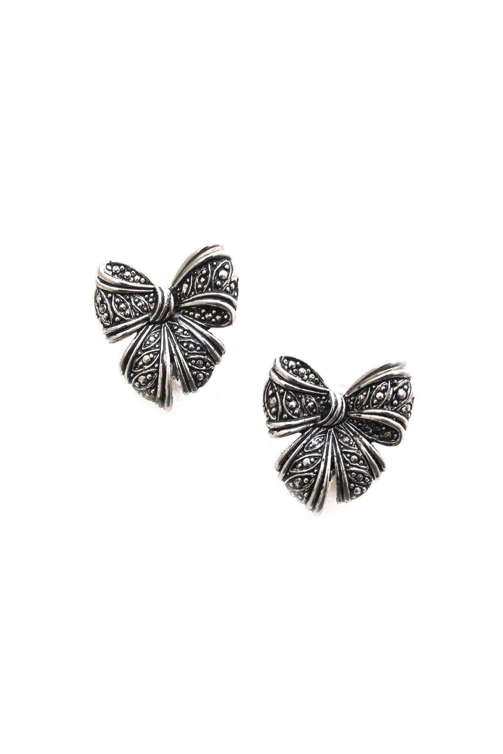 Statement Bow Clip-on Earrings