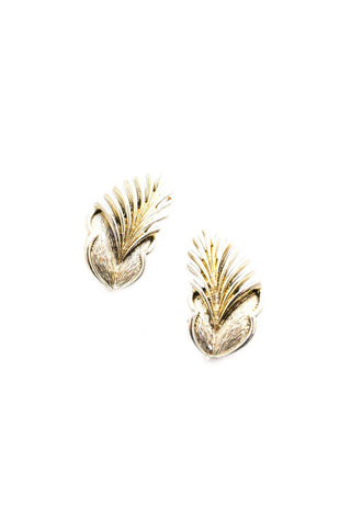 Feather Clip-on Earrings