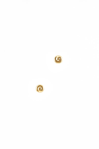 50's__Monet__Mini Swirl Stud Earrings