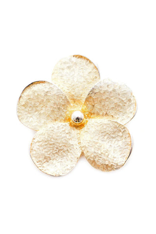 Oversized Floral Brooch