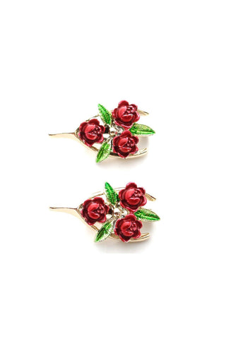 50s__Gerry's__Floral Brooch Set