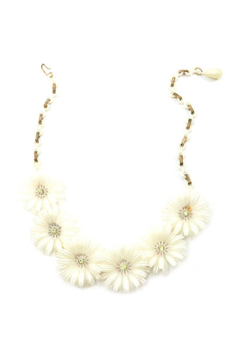 60s__Vintage__Floral Necklace