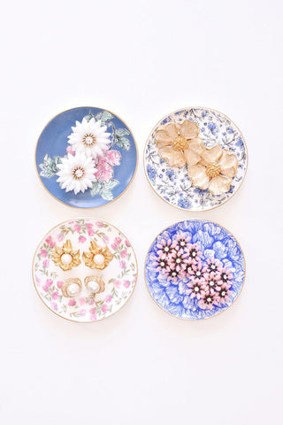 Flower Burst Clip-On Earrings